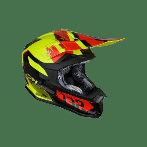 Just 1 J32 Pro Kick – Black – Red – Yellow Right