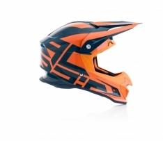 Acerbis PROFILE 4 MX Helmet Blue/Orange