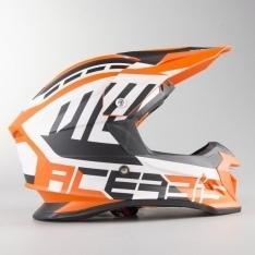 Acerbis Profile 4 MX Helmet White-Orange