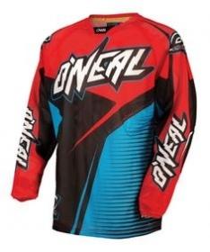 Hardwear Flow Motocross Offroad Jersey Blu/Red