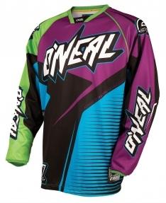 Hardwear Flow Motocross Offroad Jersey Blue-Green-Purple