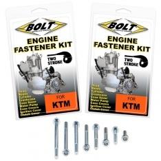 ENGINE FASTENER KITS FOR KTM 2-STROKES